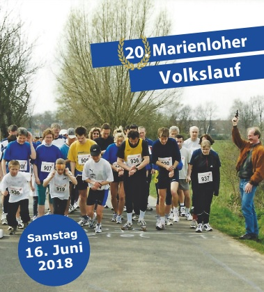 Finisher-Rekord beim 20. Marienloher Volkslauf